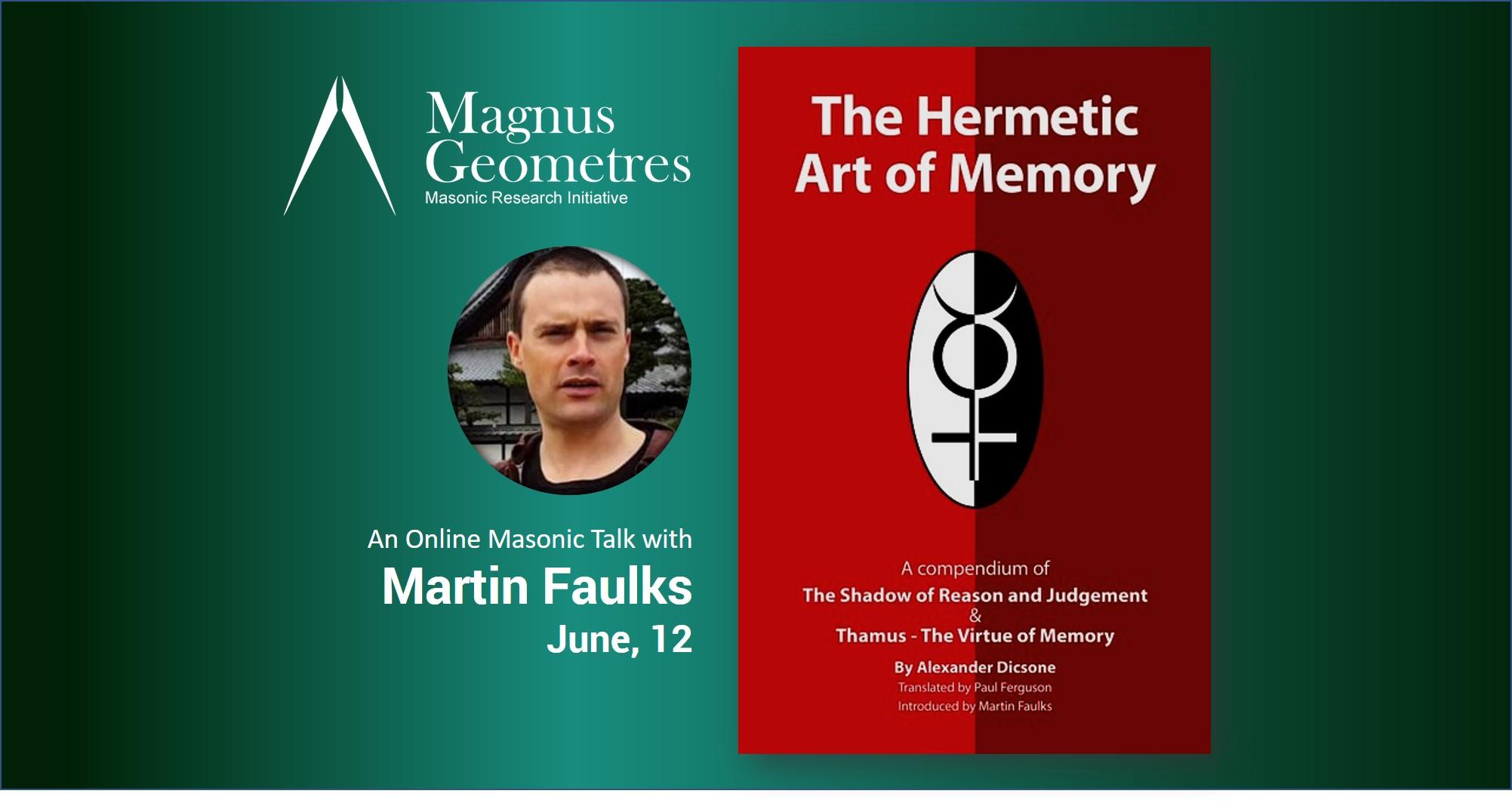 Hermetic art of memory The Hermetic Art of Memory By Brother Martin Faulk