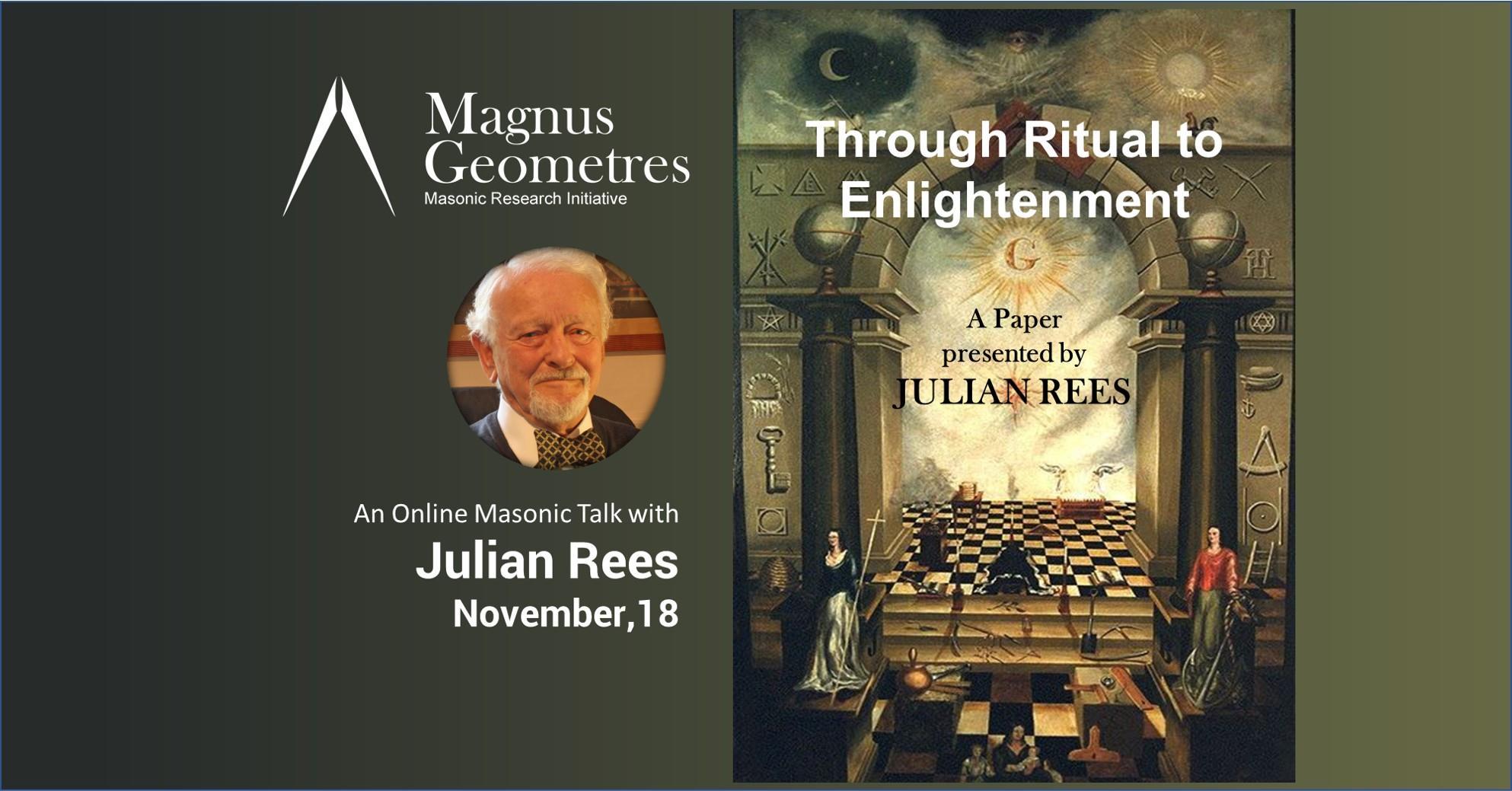 Julian rees Through Ritual to Enlightenment by Julian Rees