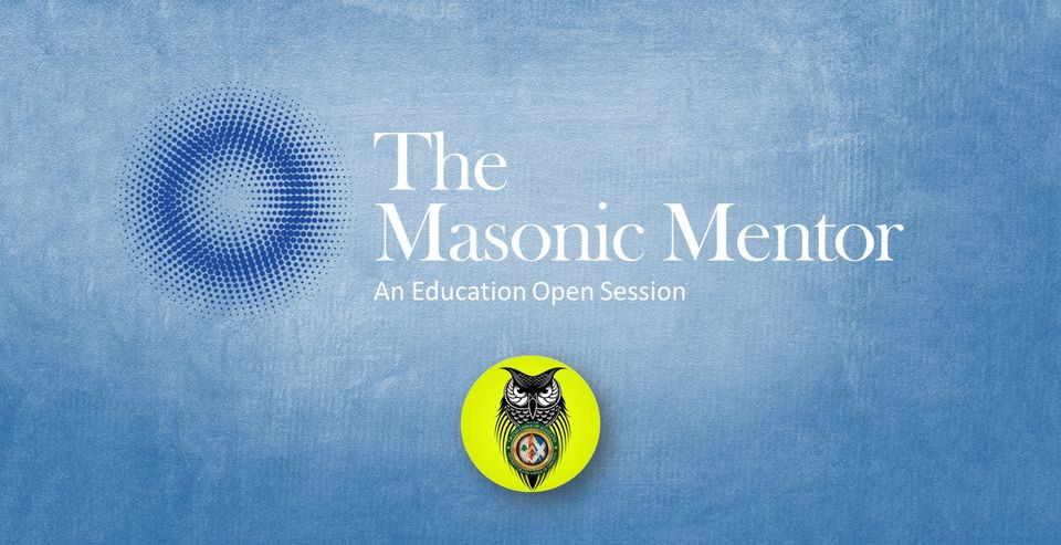 Mentor poster The Masonic Mentor